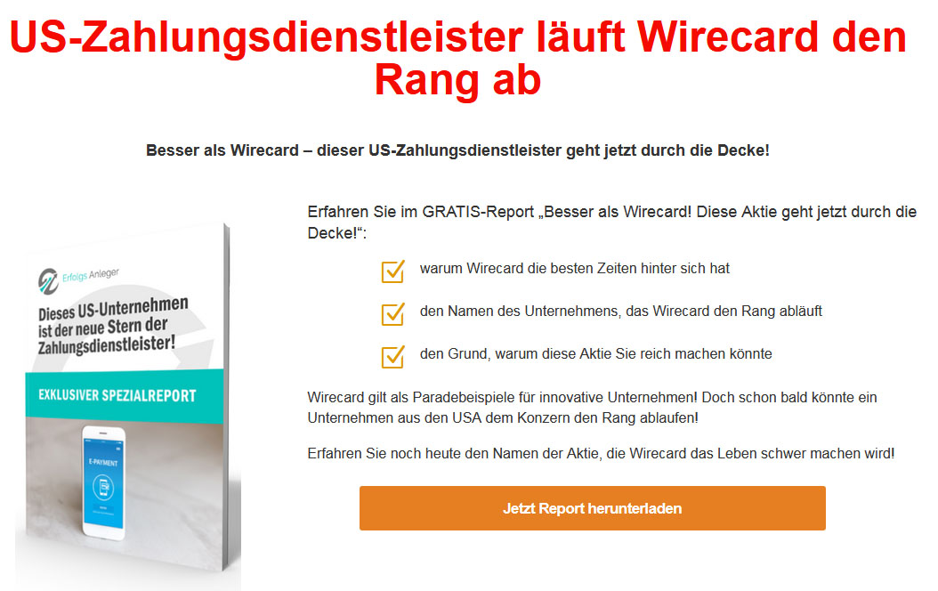 report wirecard